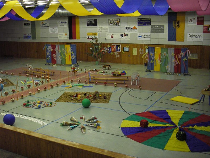 Schulanfang 2008